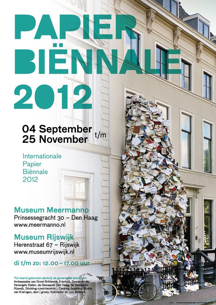 meermanno papierbiennale2012 affiche jpg