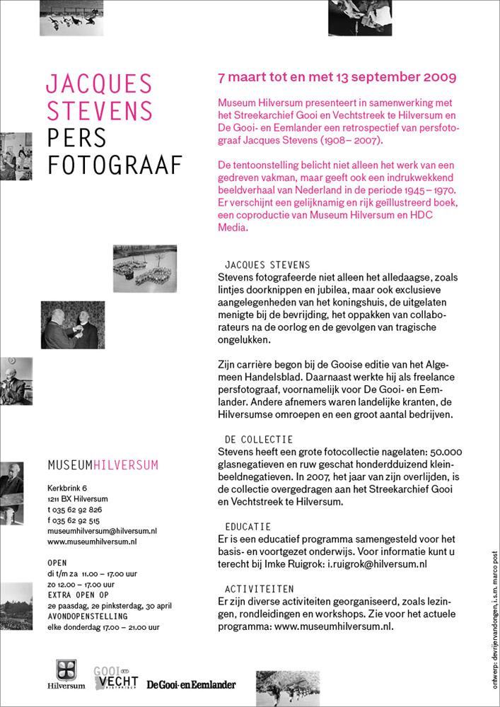 museum hilversum jacques stevens flyer2 jpg