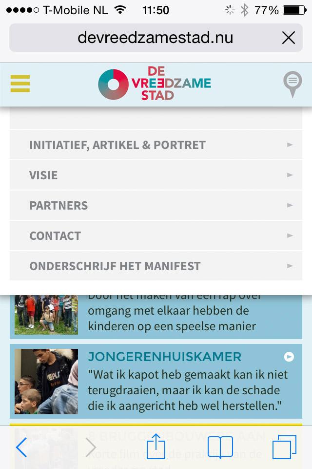 st vrede van utrecht de vreedzame stad mobile website 5 jpg